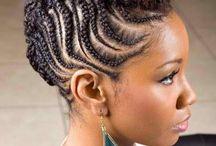 Natural hair-dos