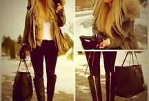 Fur outfit winter love