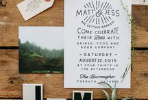 Wedding Invitations + Stationery / Wedding invitations, wedding stationery, wedding paper, wedding invites, wedding save the dates, wedding rsvp, wedding signs.
