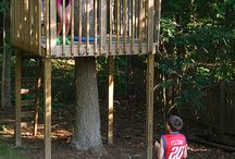 Treehouses and playhouses