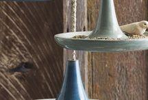 karmniki i budki dla ptaków