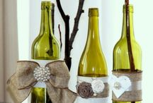 BOTTLES AND BURLAP