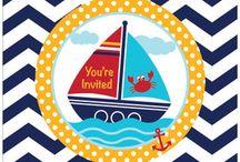 Ahoy Matey! Nautical Party / Nautical party ideas