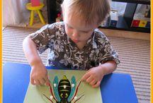 aprendizaje montessori 3-4 años