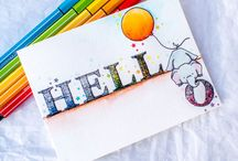 Cards - thinking of you/hi