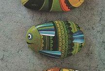 malované kamene