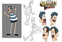 Character design ideas / Note: These are just ideas, not drawing lessons.  Also no stealing! / by Christina Rhodes