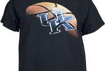 university of Kentucky Wildcats basketball / UK University of Kentucky Wildcats shirts clothes / by Brad Turpin