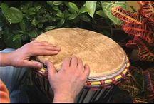 Djembe drumming