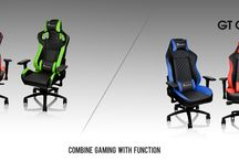 Tt eSPORTS GT FIT & COMFORT   X FIT & COMFORT Professional Gaming Chair / The GT FIT & COMFORT Series professional gaming chair comes with streamlined gaming aesthetics and mixes true ergonomic form with maximum function.  Learn more: http://www.ttesports.com/productlist.aspx?c=11