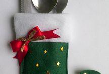 porta  talher : Natal