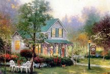 Art  Thomas  Kinkade.