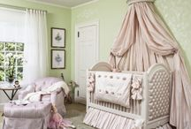 Sleeping Beauty Nursery / Inspiration is one of the key elements to realizing a well appointed room, allowing the designer to conceptualize and serving as a springboard for his or her unique vision. Well known stories and settings that have worked their way into the public consciousness through fairy tales, books and cinema have provided the inspiration for my charity showrooms over the last few years.