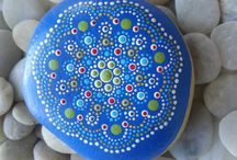 Rock Painting / Ideas to transform the humble stone and rock / by Karen Bennett