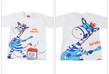 Camiseta Toddler / Crianças de 1 a 3 anos
