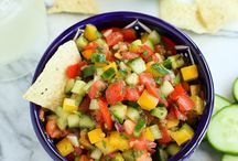 Appetizers / Entertaining is all about the food, friends and Fiesta Dinnerware.