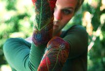 šití, pletení, háčkování