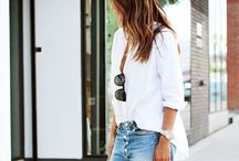 Summer Style: Cutoff Shorts / We love how these boutiques and bloggers styled our favorite cutoffs!