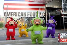 Eh-Oh World Expo 2015! / To celebrate the #Teletubbies come back, Tinky Winky, Dipsy, Laa-Laa and Po said #EhOh from the Pavilions at the World #Expo2015 in Milan!