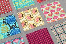 quilts for bold fabrics / love a bold print but don't know how to use except as a quilt back - think again!