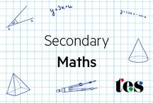 Secondary: Maths / A collection of excellent secondary maths teaching resources on TES. To be considered as a collaborator on this board, please email 'matthew.taylor@tesglobal.com'