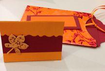 Kreatives / Bastelideen für Einladungen, Tischdekos und Verpackungen