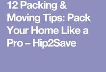 N e w  a p a r t m e n t / tips and tricks when moving house