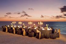 Dreams Riviera Cancun - LMDWeddings / Dreams Rivieara Cancun - beautiful property for destination weddings with really unique wedding set ups- one of my favourites ever! Ask us about their themed wedding reception and ceremony options