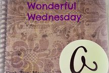 Wonderful Wednesday Blog Posts