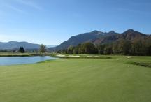 Golfen in Grassau im Chiemgau / Seit kurzem gibt es einen 18-Loch Golfplatz in Grassau im Chiemgau. Dadurch ist die Region rund um den Chiemsee zu einem wahren Golfer Paradies geworden.
