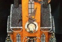 Halloween Glitter House Inspiration