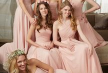 Bridesmaid Dresses / What your best gal pals are going to be wearing should be a reflection of your vision for your wedding.  With so many styles and sizes to mix and match, our Morilee by Madeline Gardner Bridesmaids Dress collection offers an amazing variety of colors, lengths, and fabrics to choose from.  Sweetheart necklines, long or short, patterned metallics, flowy chiffon, and soft lace make for a look your girls will be drooling over.