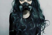gas mask^^