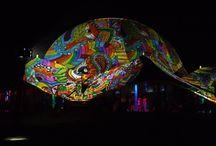 Ozora festival 2013 Dom projection / Ozora fest 2013 Dom projection  #ozora #ozorafestival #ozorafestival2013 #raypainting #visual