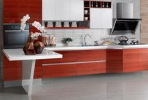 High Pressure Laminate Series Oppein kitchen cabinet OP13-248