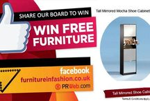 Win free furniture! / Share ,follow and Win !