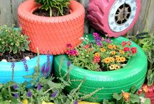 Reuse & Repurpose | Gardening / Sustainable practices and gardening go hand and hand!