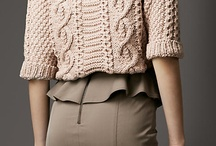 Short Knit Sweater / Project to try