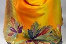 malování na hedvábí