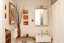 Quadros e decoração para banheiro