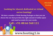 Dedicated Server / Dedicated Servers at hosting1.in are highly scalable up to demand and fully managed, so that you can easily have the benefits to access the power of dedicated resources required for your  hosting.