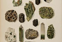Mineralien, Edelsteine und Kristalle