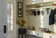 home - mudroom / by Charleigh Mims
