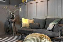 Eclectic livingroom