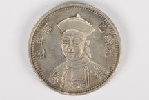 July 24, 2014 CHINESE COINS & INTERNATIONAL JEWELLERY / 522 Lots of Chinese coins and international jewellery, Asian paintings, snuff bottles, jade, stones, ceramics, bronzes, natural history, wood, and furniture: