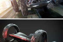 Odd vehicles