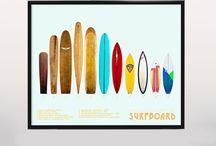 surf/pop art