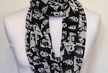 Infinity Scarf Jersey OR Chiffon Unisex Printed Loop Fashion Scarves