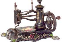máquina de coser mamá