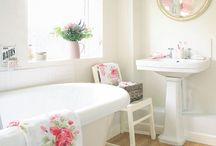 bathrooms / by Christine Beutner